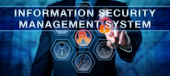 ISMS steht für Information Security Management System