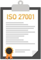 ISO 27001 Zertifikat